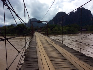 The notorious river of death- Vang Vieng, Laos.