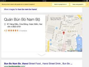 Nam food