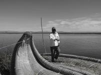 Lake Titicaca locals.