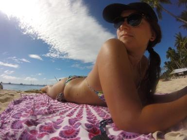 Loving the Boracay rays.
