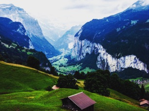 Embracing the breathtaking scenery of Switzerland