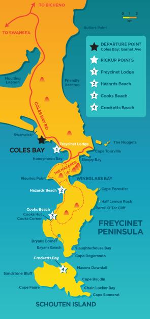 Aqua Taxi Map
