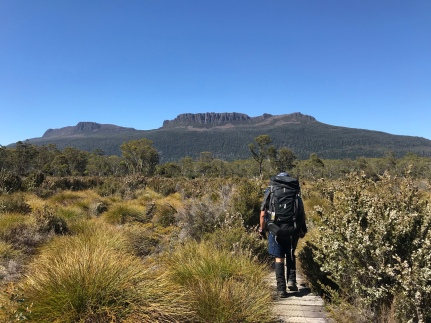 The Overland Track | If you are planning on hiking the Overland Track then this blog post is for you! It includes a personal guide and tips to prepare you for your Overland Track journey. Click through to check out all the tips!