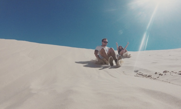 Exploring the sand dunes of Port Stephens | Check out article to discover how you can experience this for yourself.