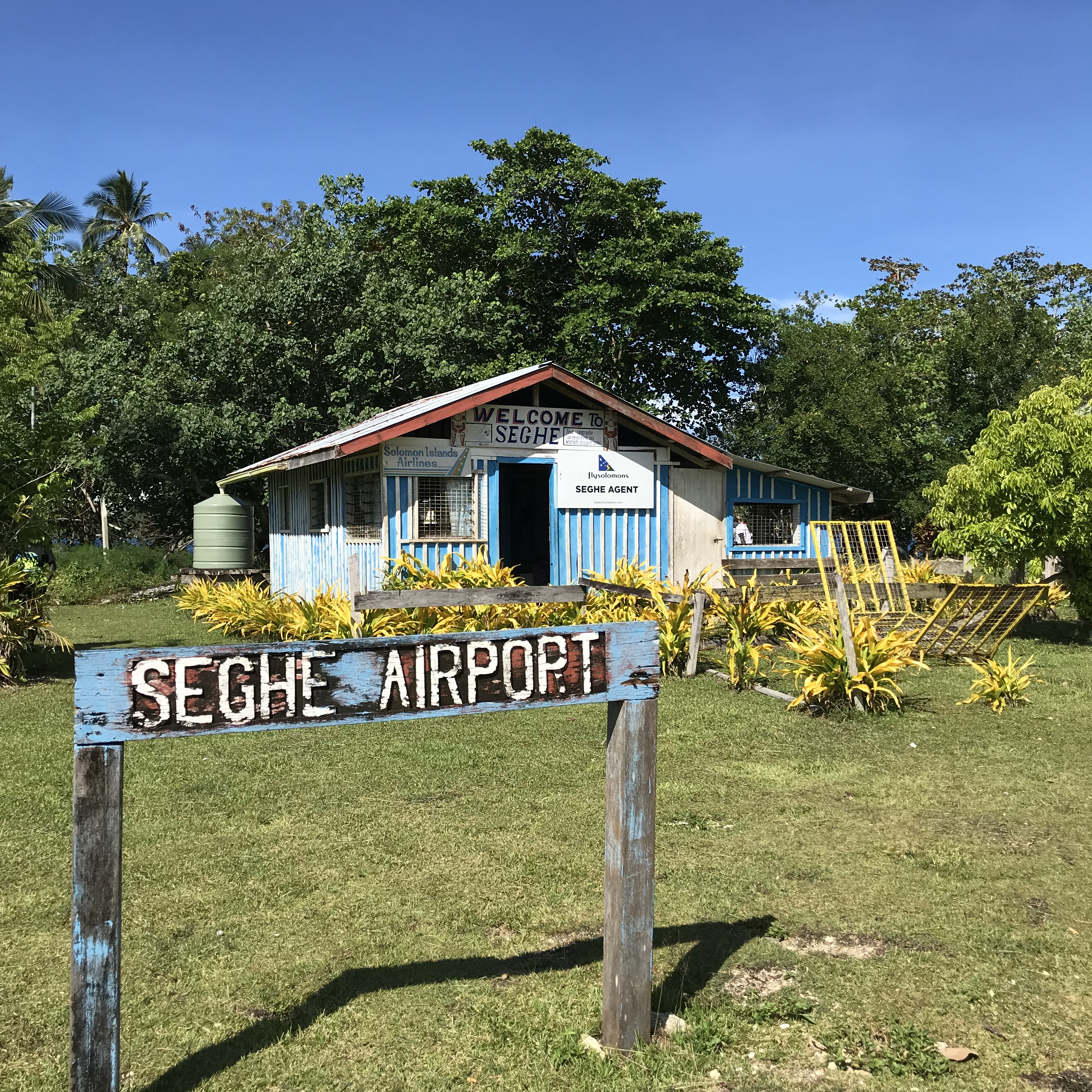 Seghe Airport is the gateway to Uepi Island in the Solomon Island | Visit Spirit Quest Travel for more info.