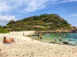 Pigeon Island off Nevalli Beach, Trincomalee | Visit Spirit Quest Travel for Sri Lanka inspiration