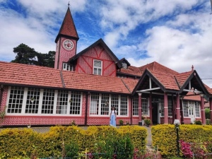 The old post office in Nuwara Eliya Sri Lanka