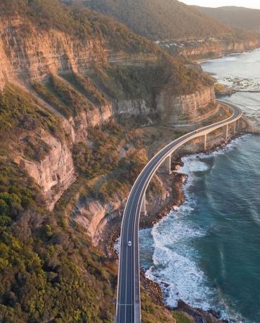 Sea Cliff Bridge NSW Image source: @xu_keeper