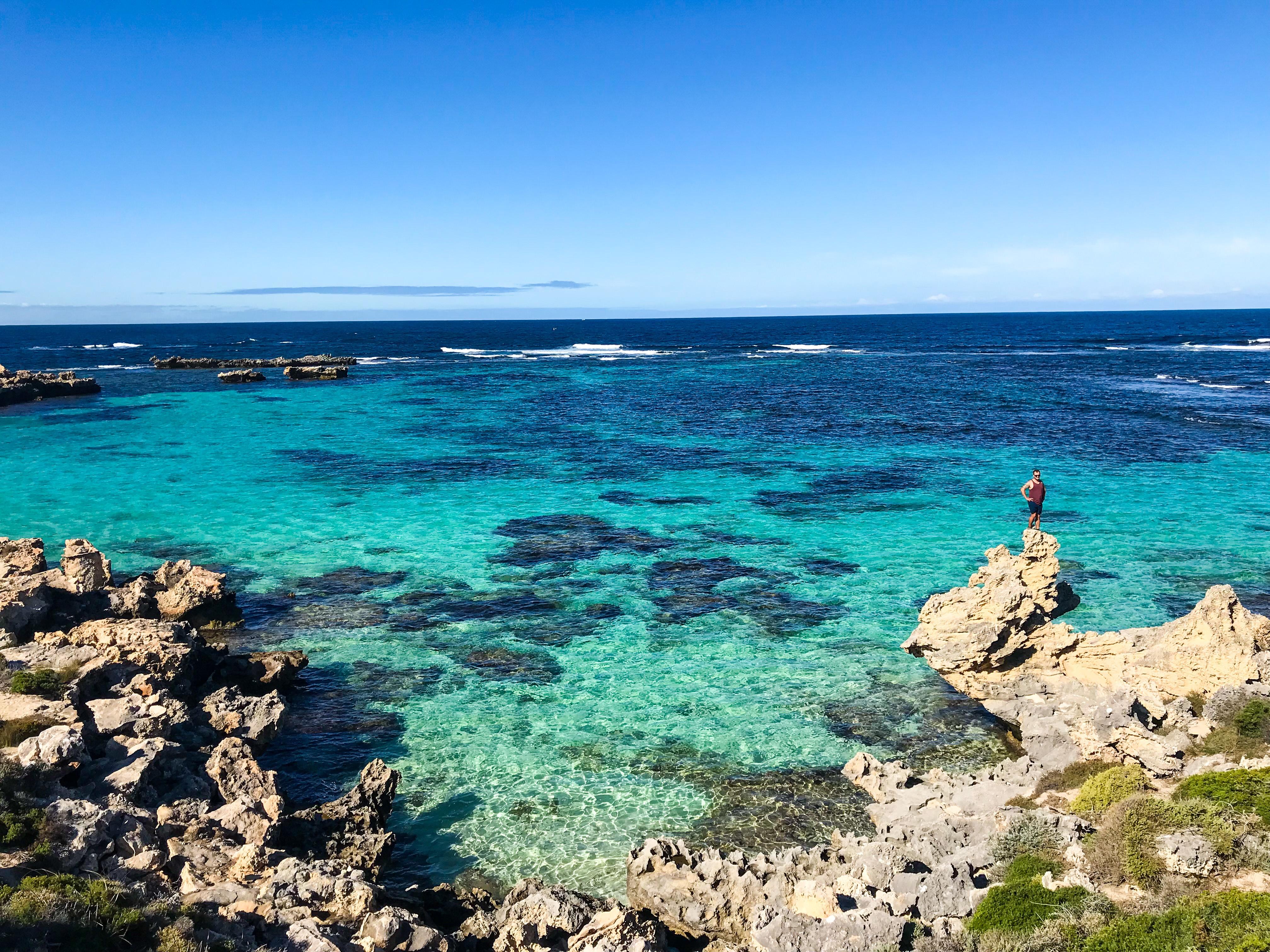 Parker Point Road. View tips & tricks for exploring Rottnest Island with Spirit Quest Travel www.spiritquesttravel.com.au